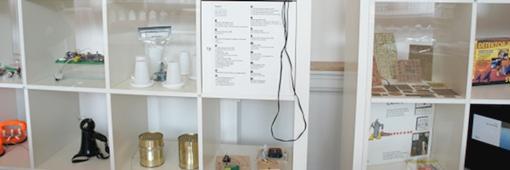 TüftlerLab Objekte: DIY-Ausstellung, Foto: Nowak