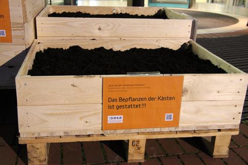 Bau Saatbomben Extraschicht-Kaesten, Foto: Stephan Kottkamp, DASA