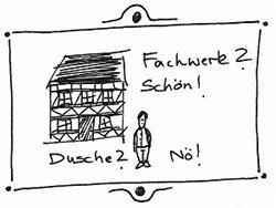 DIY Dusche. Grafik: Tine Nowak