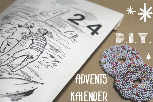 DIY Adventskalender vom Nähmarie-Blog. Foto: Maria Neumeister