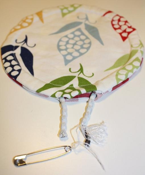 Stoff-Frisbee. Foto: Sandra Marks